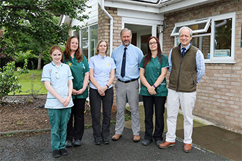 Ambleside Veterinary Practice In Worcester - Team Photo